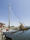 Skipjack Sailing Boat, Chesapeake Bay Maritime Museum, St. Michaels, Maryland, USA Photographic Print by Robert Harding