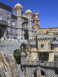 Pena National Palace, Sintra, UNESCO World Heritage Site, Portugal, Europe Photographic Print by Amanda Hall