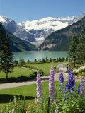 Lake Louise, Banff National Park, UNESCO World Heritage Site, Rocky Mountains, Alberta, Canada Fotografie-Druck von Robert Harding