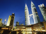 Petronas Twin Towers, Kuala Lumpur, Malaysia, Southeast Asia Photographic Print by Alain Evrard