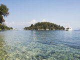 Island of Skorpios Owned by the Onassis Family, Near Lefkada, Ionian Islands, Greece Photographic Print by Robert Harding