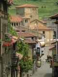 Santillana Del Mar, Cantabria, Spain, Europe Fotografisk trykk av Miller John
