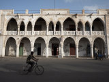 Ottoman Architecture Visible in the Coastal Town of Massawa, Eritrea, Africa Premium fototryk af Mcconnell Andrew