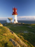 Lindesnes Fyr Lighthouse, Southernmost Point in Norway, Scandinavia, Europe Photographic Print by Gavin Hellier