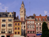 Grand Place, Lille, Nord Pas De Calais, France, Europe Fotografisk trykk av Miller John