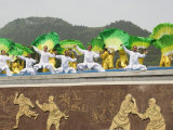 Shaolin Temple, Shaolin, Birthplace of Kung Fu Martial Art, Henan Province, China Reproduction photographique par Kober Christian