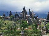 Besakih Temple, Bali, Indonesia, Southeast Asia Fotografisk trykk av Harding Robert