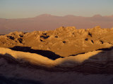 Eroded Mountains in the Valley of the Moon in the San Pedro De Atacama, Chile, South America Photographic Print by Mcleod Rob