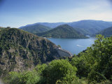 Cevennes Dam, in Lozere, Languedoc Roussillon, France Photographic Print by David Hughes