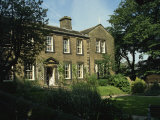 Bronte Parsonage, Haworth, West Yorkshire, England, United Kingdom, Europe Fotografisk trykk av Harding Robert