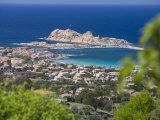 L'Lle Rousse, Corsica, France, Mediterranean, Europe Fotografisk trykk av Miller John