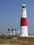 Portland Bill Lighthouse, Isle of Portland, Weymouth, Dorset, England, United Kingdom, Europe Reproduction photographique par Rainford Roy