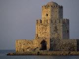 Venetian Fortress at Methoni, Peloponnese, Greece, Europe Fotografisk trykk av Miller John