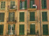 Shuttered Windows, Palma, Mallorca, Balearic Islands, Spain, Europe Fotografisk trykk av Miller John