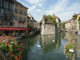 Annecy, Rhone Alpes, France, Europe Fotografisk trykk av Harding Robert