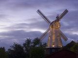 Union Mill at Dusk, Cranbrook, Kent, England, United Kingdom, Europe Fotografisk trykk av Miller John