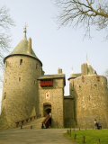 Castell Coch, Near Cardiff, Wales, United Kingdom, Europe Photographic Print by Richardson Rolf