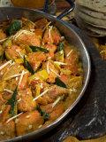 Indian Food, Chicken Tikka Masala, India Photographic Print by Tondini Nico