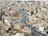 View over City, Amman, Jordan, Middle East Photographic Print by Tondini Nico