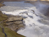 Gullfoss Waterfalls, Iceland, Polar Regions Photographic Print by Pitamitz Sergio