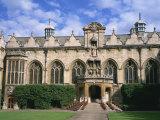 Oriel College, Oxford, Oxfordshire, England, United Kingdom, Europe Reproduction photographique par Rainford Roy