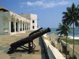St. Georges Fort, Oldest Fort Built by Portuguese in the Sub-Sahara, Elmina, Ghana, West Africa Fotografisk tryk af Pate Jenny