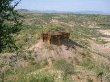 Olduvai Gorge, UNESCO World Heritage Site, Serengeti, Tanzania, East Africa, Africa Fotografisk trykk av Pate Jenny