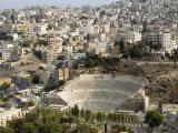 Roman Theatre, Amman, Jordan, Middle East Photographic Print by Tondini Nico