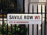 Savile Road, Street Sign, London, England, United Kingdom, Europe Photographic Print by Rawlings Walter