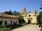 Carmel Mission Basilica, Founded in 1770, Carmel-By-The-Sea, California, USA Photographic Print by Westwater Nedra