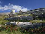 Rock Formations of the Burren, County Clare, Munster, Republic of Ireland, Europe Reproduction photographique par Rainford Roy