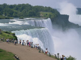 Niagara Falls, New York State, United States of America, North America Reproduction photographique par Rainford Roy