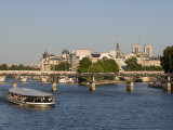 River Seine and Ile De La Cite, Paris, France, Europe Photographic Print by Pitamitz Sergio