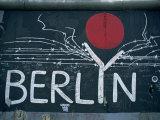 East Side Gallery, Remains of the Berlin Wall, Berlin, Germany, Europe Fotografie-Druck von Morandi Bruno