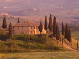 Country House, Il Belvedere, San Quirico D'Orcia, Val D'Orcia, Siena Province, Tuscany, Italy Photographic Print by Pitamitz Sergio