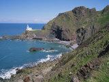 Hartland Point, North Devon, England, United Kingdom, Europe Reproduction photographique par Rainford Roy