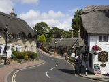 Thatched Houses, Teashop and Pub, Shanklin, Isle of Wight, England, United Kingdom, Europe Reproduction photographique par Rainford Roy