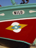 Stylized Eye on Fishing Boat, Algarve, Portugal, Europe Photographic Print by Westwater Nedra