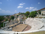 Roman Theatre in the Town of Plovdiv in Bulgaria, Europe Photographic Print by Scholey Peter