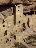 Cliff Palace Dating from Between 1200 and 1300 Ad at Mesa Verde, Colorado, USA Photographic Print by Rawlings Walter