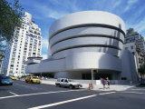 Guggenheim Museum, Manhattan, New York City, United States of America, North America Photographic Print by Rawlings Walter