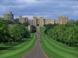 Long Walk from Windsor Castle, Berkshire, England, United Kingdom, Europe Lámina fotográfica por Woolfitt Adam