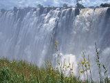 Victoria Falls, UNESCO World Heritage Site, Zambia, Africa Fotografisk trykk av Pate Jenny
