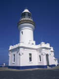 Exterior of Byron Bay Lighthouse at Byron Bay, New South Wales, Australia, Pacific Photographic Print by Wilson Ken