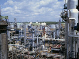 Petro-Chemical Plant Impressão fotográfica por Hans Peter Merten