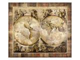 Oude wereld Premium gicléedruk van Edwin Douglas