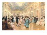 Elegante Abendgesellschaft Giclée-Premiumdruck von Victor Gabriel Gilbert
