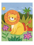 Baby Lion Premium Giclee Print by Sophie Harding