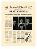 Beatlemania! Impressão giclée premium por  The Vintage Collection