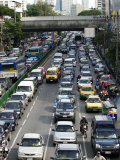 Traffic, Bangkok, Thailand, Southeast Asia Photographic Print by Porteous Rod